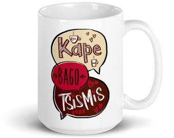 Kape Bago Tsismis Mug