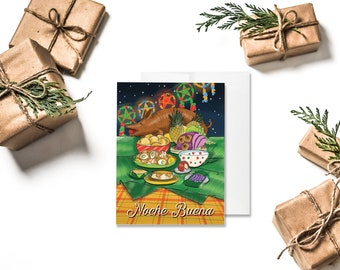 CHRISTMAS | Noche Buena Greeting Card