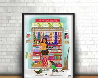 Sari-Sari Store Print