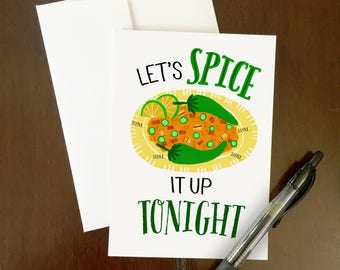 Spice it up Greeting Card