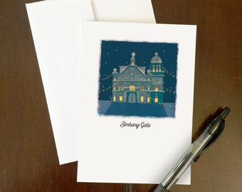 Simbang Gabi Greeting Card