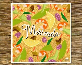 Merienda Food Art