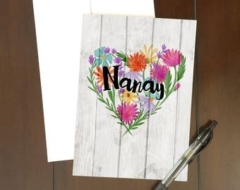 MANY OCCASIONS | Nanay:  Happy Birthday/Mother's Day Greeting Card