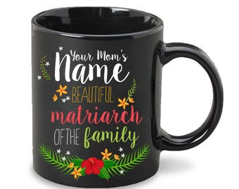 Personalized Matriarch Mug