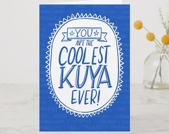 BIRTHDAY | Coolest Kuya Greeting Card