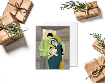CHRISTMAS | Pilipino Holy Family Greeting Card
