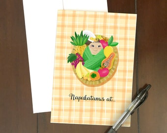 Napakatamis At...Greeting Card