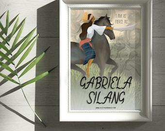 Gabriela Silang Print