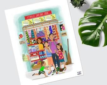 P. Willis Sari-Sari Store Print