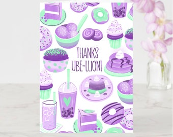Thanks Ube-llion! Greeting Card