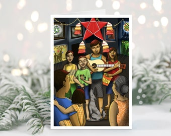 CHRISTMAS | Ang Pasko Ay Sumapit Greeting Card