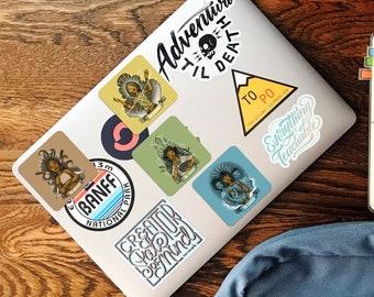 "Babaylan Archetype 3"" Square Stickers"