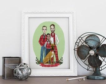 Custom Single/Family Portrait