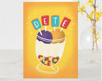Dete/Custom Birthday Card