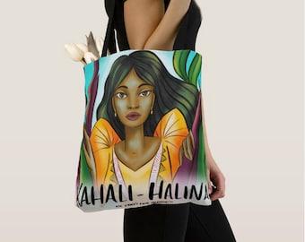 Kahali-Halina All-Over Tote Bag