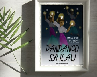 Pandango sa Illaw Dancer Print