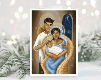 Pilipino Holy Family Greeting Card