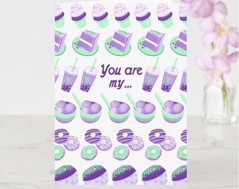 You Are My Ube-session Greeting Card
