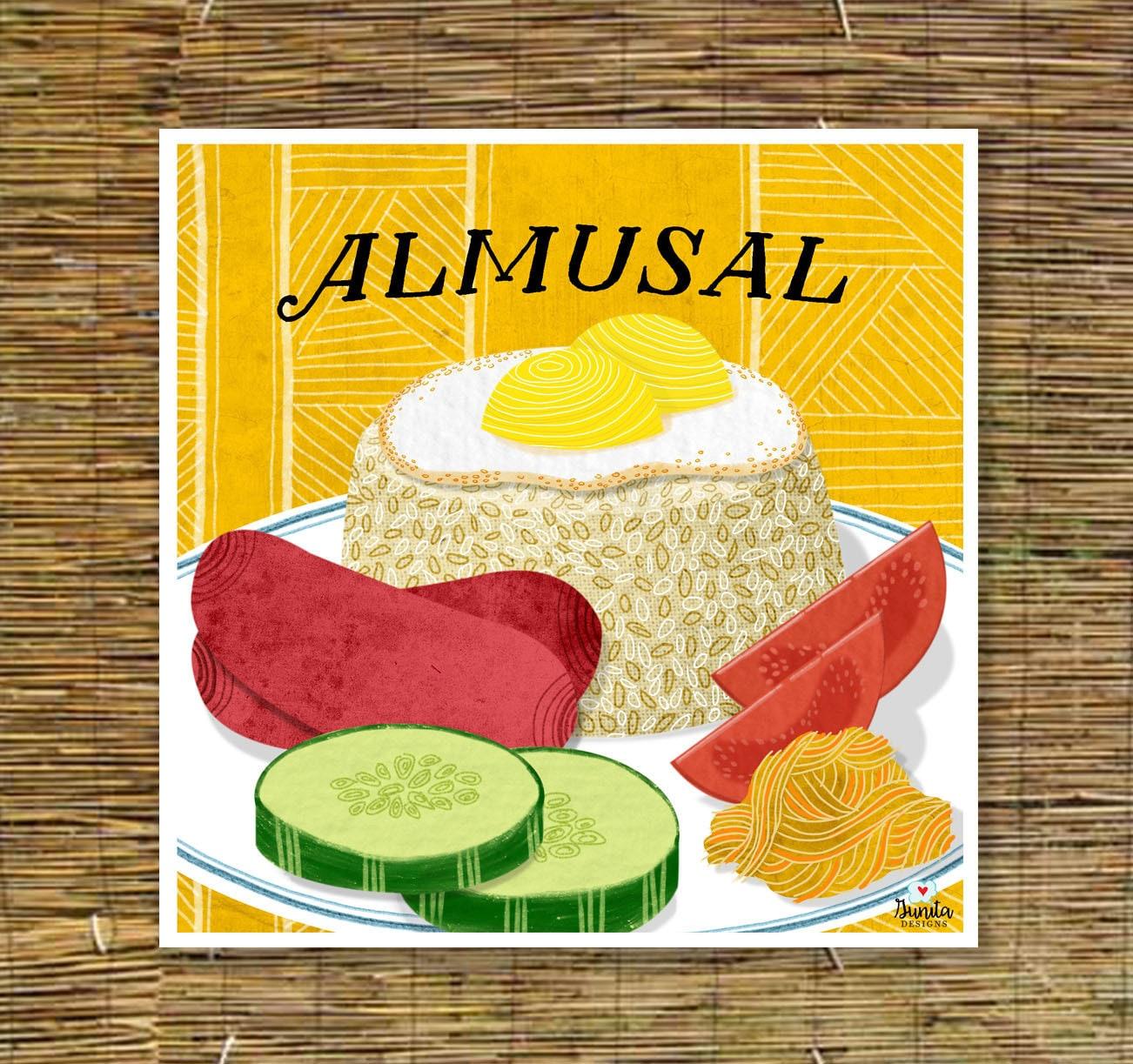 Almusal Kitchen Art Filipino Art Print Tagalog | Etsy