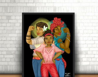 The Filipino-African American Woman/Girl