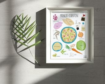 Pancit Canton Print