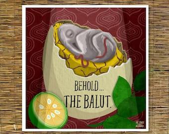 Balut Print