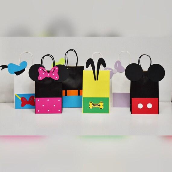 Sombreros y bolsos de fiesta de cumpleaños de Mickey Bolsos  b3a5955513c