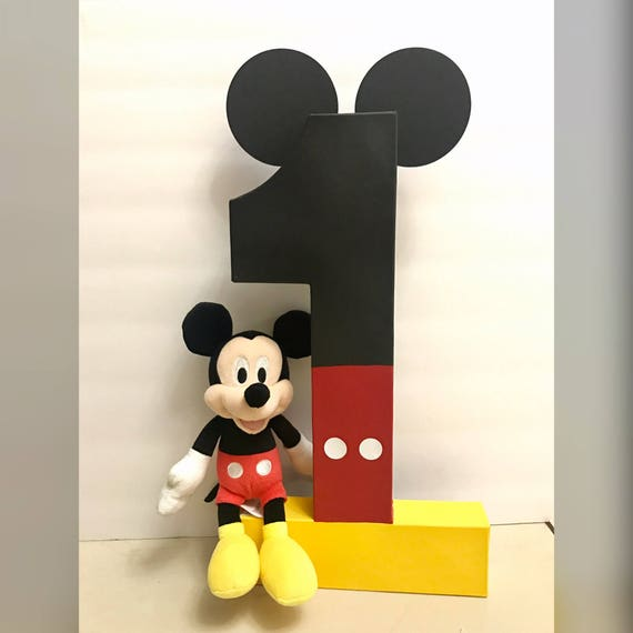 Mickey Mouse Verjaardag Mickey Birthday Party Mickey Foto Etsy