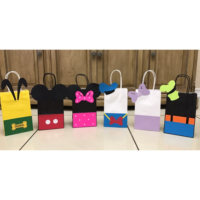 Mickey Mouse Clubhouse Birthday Party Gift Bags Minnie