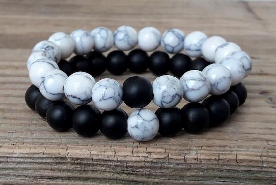 96305d7b78 Couple bracelets you complete me bracelets set shungite | Etsy
