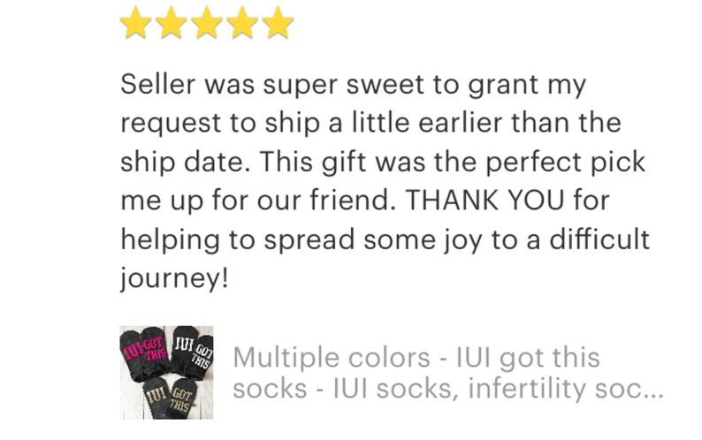 lucky fertility socks IUI socks Multiple colors sock exchange lucky socks IUI got this socks infertility socks ttc socks