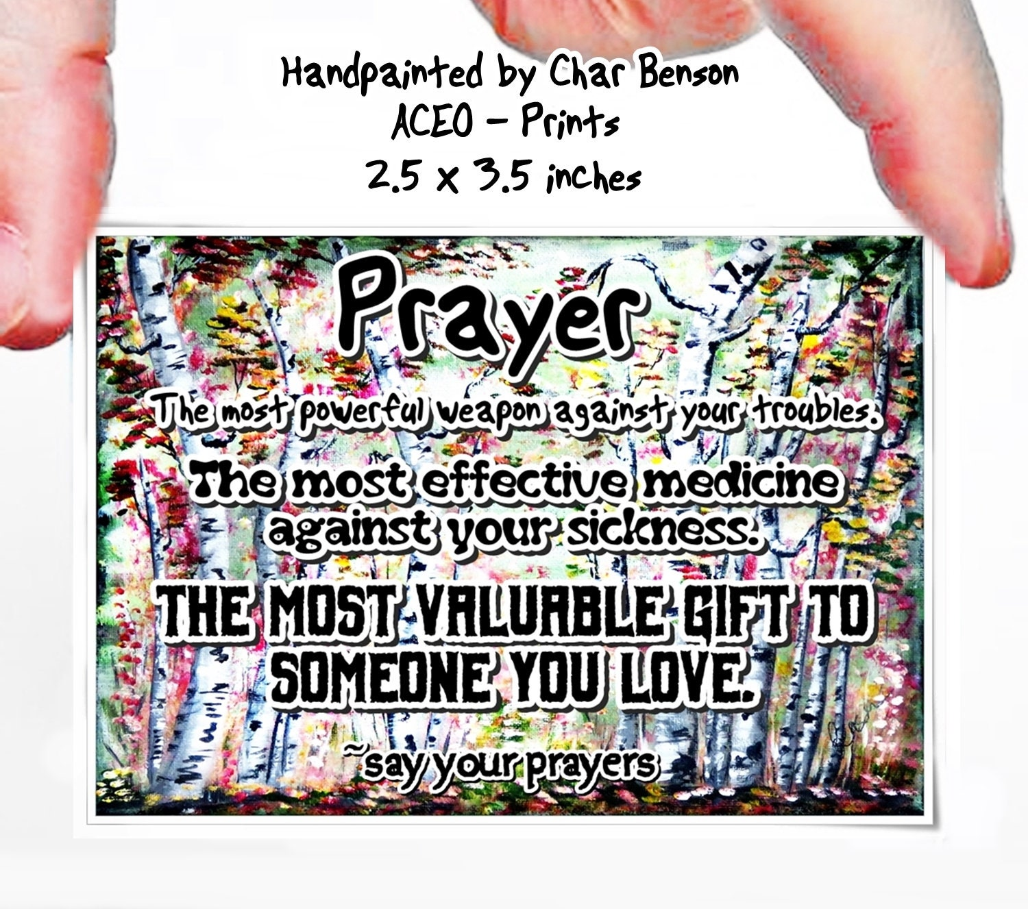 Healing Prayers, Prayer Quote, Inspirational Word Art, Pocket Prayer