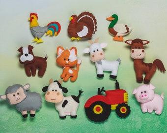 Felt toys