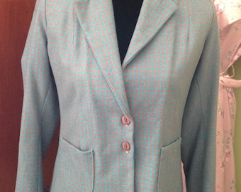 A 1940s style fitted wool jacket