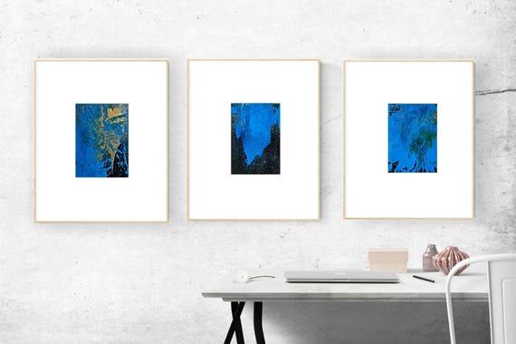 Abstract Acrylic Painting Set Small Painting Wall Art Original | Etsy