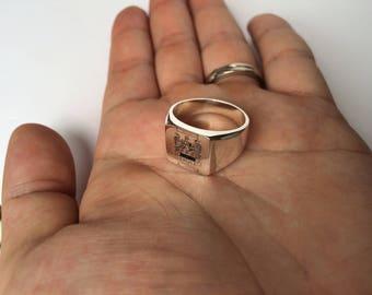 Family Crest Ring Etsy