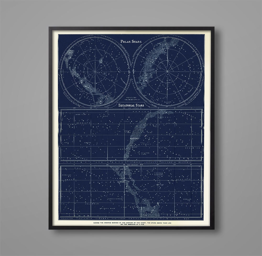 astronomy star charts constellations - 1000×975