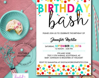 basketball party invitation template basketball party etsy