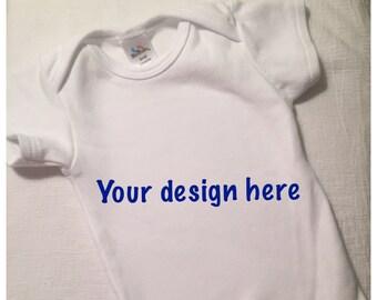 Customized onesie/ tshirt