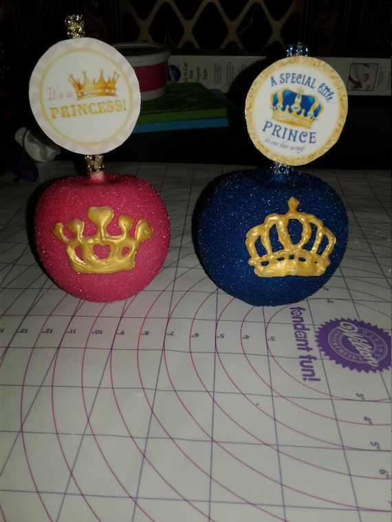 Royal Theme Baby Shower Candy Apples Treats Party Edible Gift Etsy