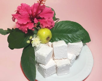 Guava Gourmet Marshmallows  - 16 Gourmet Handcrafted Marshmallows