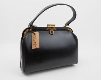 1950s Jana Mod Top Handle Bag / 1960s