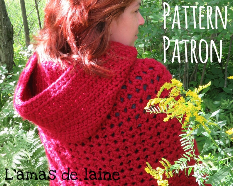 Ruby's Cape crochet pattern  halloween costume fairy image 0