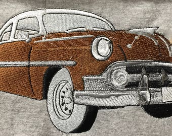 """Embroidered """"1953 Chevrolet"""" Shirt"""