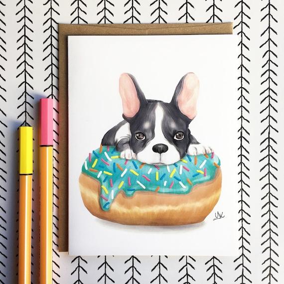 Cute French Bulldog Card Gifts
