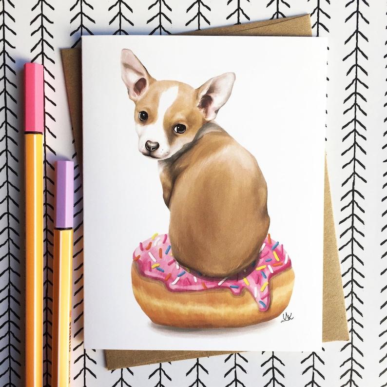 Cute Chihuahua Card Funny Gift