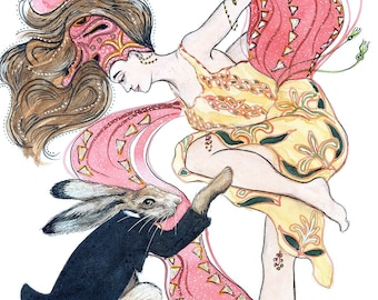 Hares n Bunnies Wall Art