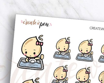TA10 | Tinta | WASH DISHES | Planner Stickers