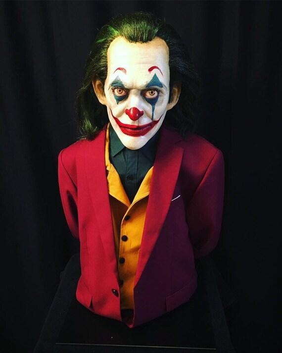 Joaquin Phoenix Joker Arthur Fleck Bust
