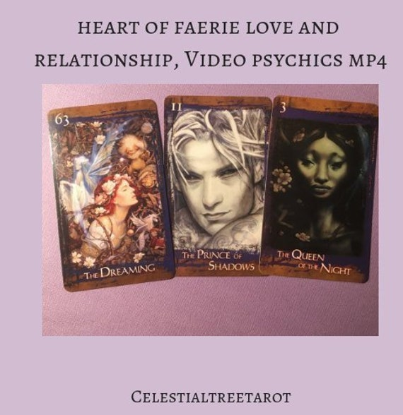 Heart of Faerie Love and Relationships Reading , Video Psychics MP4